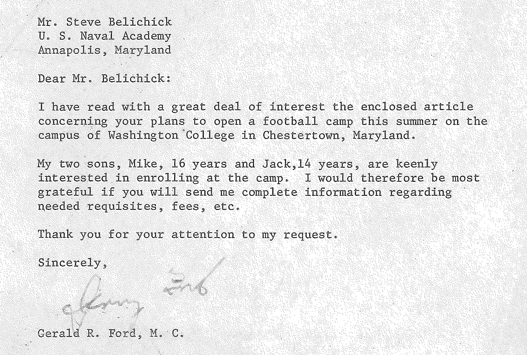 Letter-to-Steve-Belichick-from-Gerald-Ford-(9)